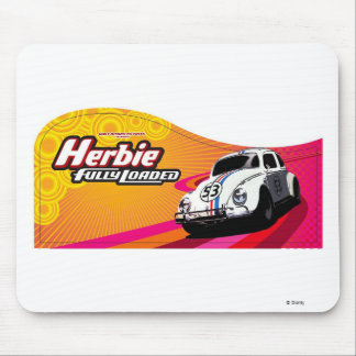 Herbie the Love Bug 53 Fully Loaded retro Disney Mouse Pad