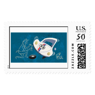 Herbie The Love Bug animated Disney Postage
