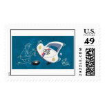 Herbie The Love Bug animated Disney Postage Stamps