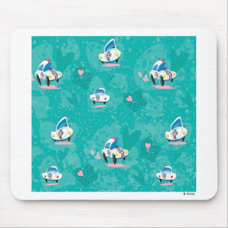 Herbie the Love Bug background Disney Mouse Pad