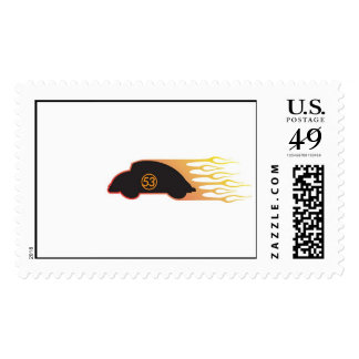 Herbie the Love Bug in a great speed Disney Postage