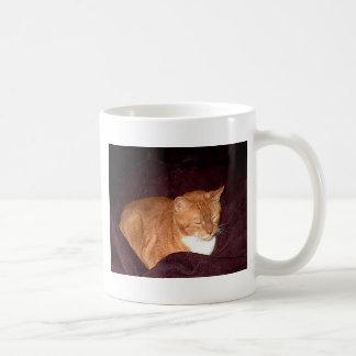 Herbie the Orange Marmalade Cat Coffee Mug