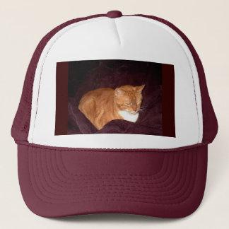 Herbie the Orange Marmalade Cat Trucker Hat