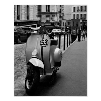 Herbie-Vespa Impresiones
