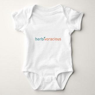 Herbivoracious! Baby Bodysuit