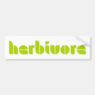 Herbivore Bumper Sticker