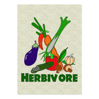 Herbivore Large Business Cards (Pack Of 100)