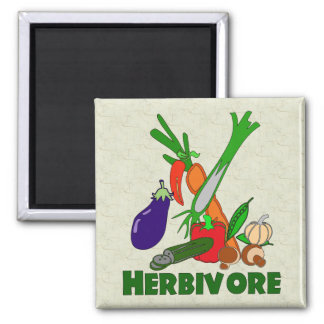 Herbivore Fridge Magnets