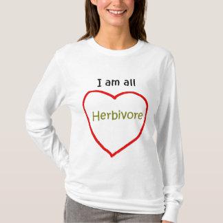Herbivore Heart Ladies Shirt