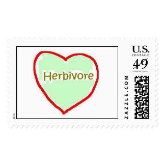 Herbivore Heart Stamp