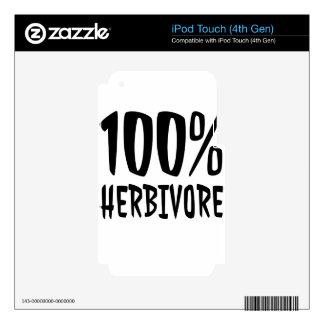 herbivore iPod touch 4G decals