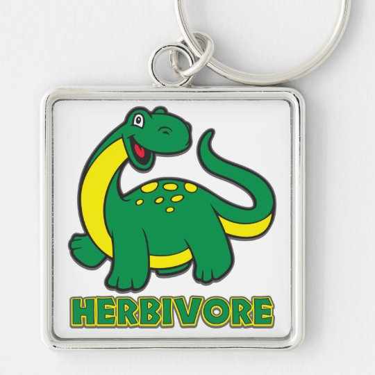 Herbivore Keychain