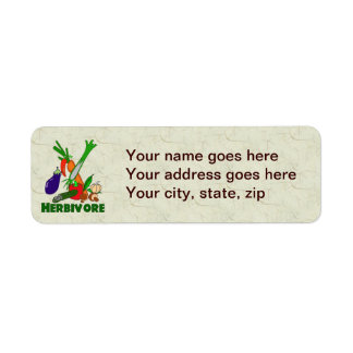 Herbivore Label
