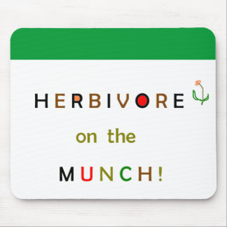 Herbivore on the Munch Mousepad