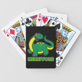 Herbivore Bicycle Playing Cards