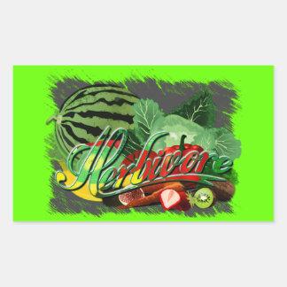 Herbivore Rectangle Stickers