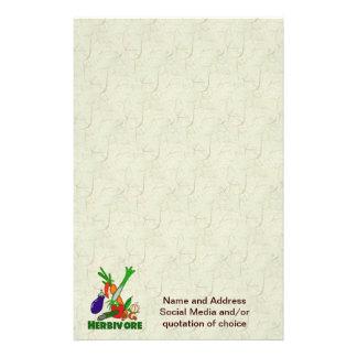 Herbivore Customized Stationery