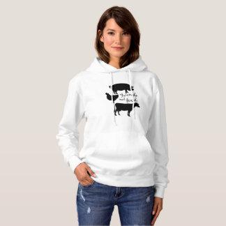 Herbivore Vegetarian Veganism Vegan Gift Hoodie