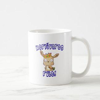 Herbivores Rule Coffee Mug
