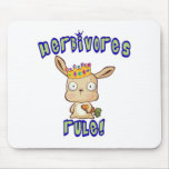 Herbivores Rule Mouse Pad