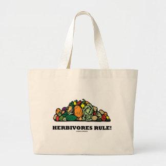Herbivores Rule! (Pile Of Vegetables) Bag