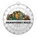Herbivores Rule! (Pile Of Vegetables) Dartboards