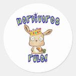 Herbivores Rule Stickers