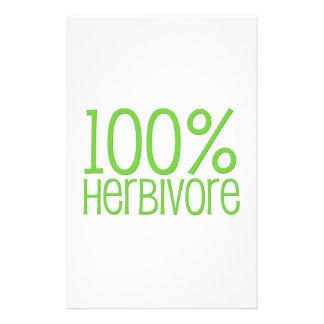 Herbívoro 100% papelería personalizada