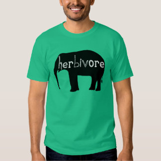 Herbívoro - elefante camisas