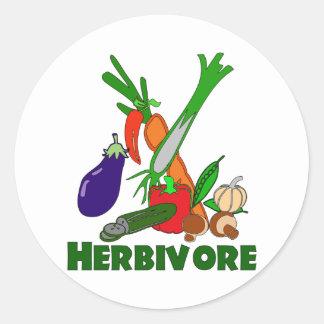 Herbívoro Pegatinas