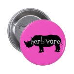 Herbívoro - rinoceronte - rosa pin