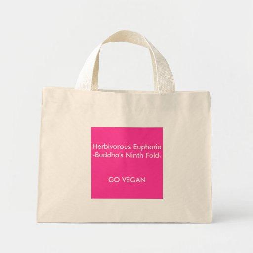 Herbivorous Euphoria-Buddha's Ninth Fold Tote Bag