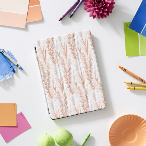 Herbs and flowers of the steppes  iPad pro cover