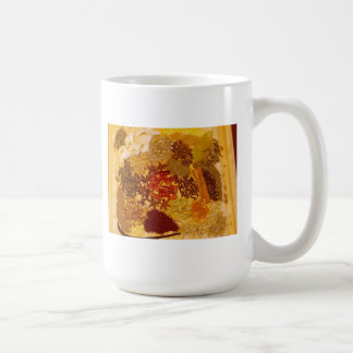 Herbs and Spices Collage Classic White Coffee Mug