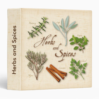 Herbs and Spices, Rosemary, Sage, Thyme, Cinnamon Binder