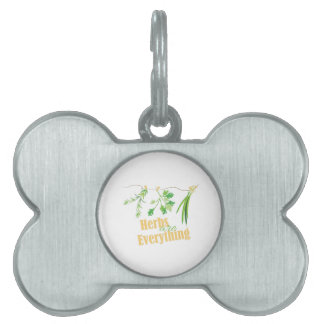 Herbs Are Everything Pet Tags