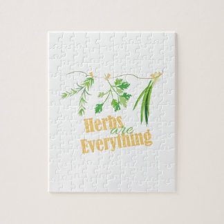 Herbs Are Everything Jigsaw Puzzle