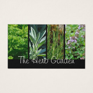 Herbs business card