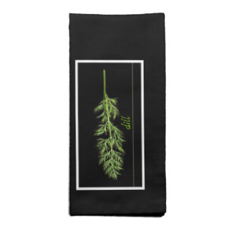 herbs - dill - napkins