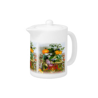 Herbs for Health Teapot