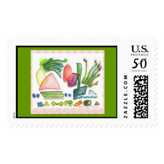Herbs of Provence stamp