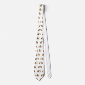 Herbs sage, rosemary, thyme neck tie