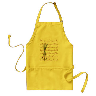 Herbs, Spices & Chives Cooking Apron