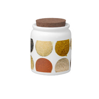 Herbs Spices & Powdered Ingredients Candy Jar