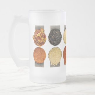 Herbs Spices & Powdered Ingredients Frosted Glass Beer Mug
