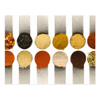 Herbs Spices & Powdered Ingredients Postcard