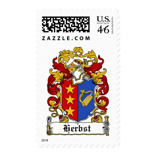 Herbst Family Crest Stamps