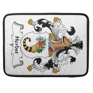 Herbst Family Crest Sleeve For MacBook Pro