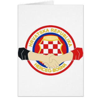 Herceg Bosna, Rukovanje Card
