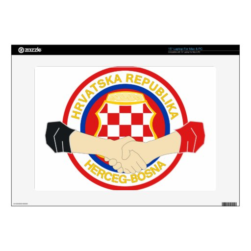 Herceg Bosna, Rukovanje Decals For Laptops